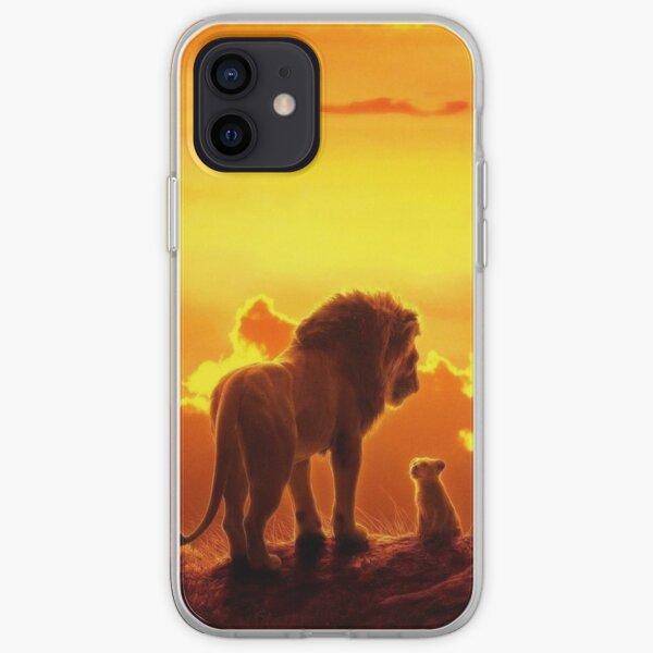 El rey León Funda blanda para iPhone