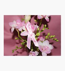 Pink for Breast Cancer Photographic Print