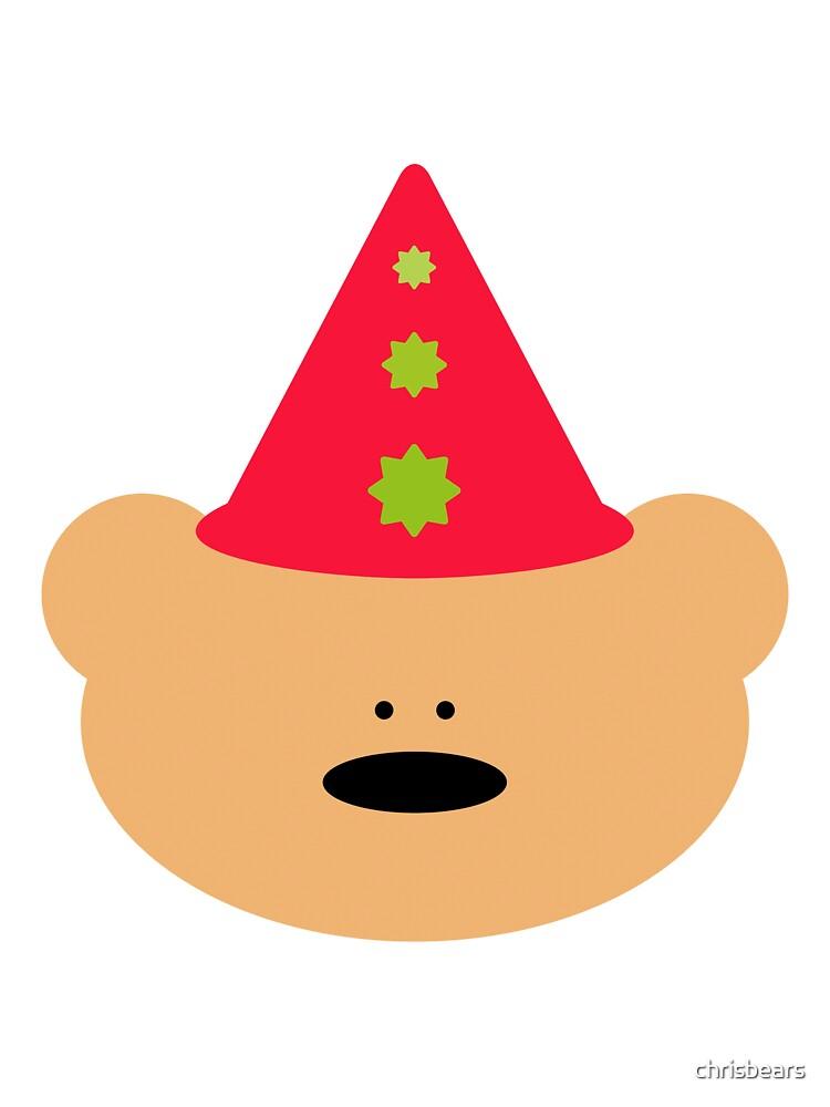 Teddy Bear Clown by chrisbears