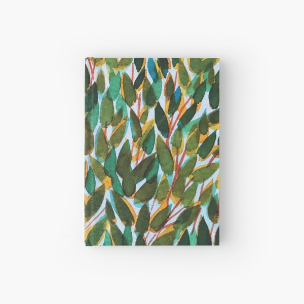 For a dark leafy day Hardcover Journal