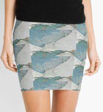 Paint Peeling From Wall Mini Skirt