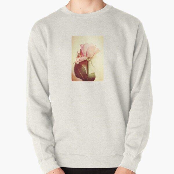 Vintage Rose Pullover Sweatshirt