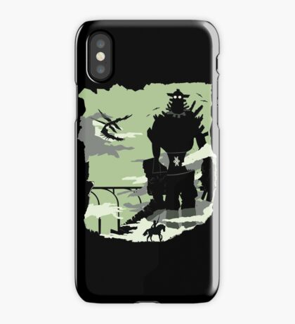 Silhouette of the Colossus iPhone Case/Skin