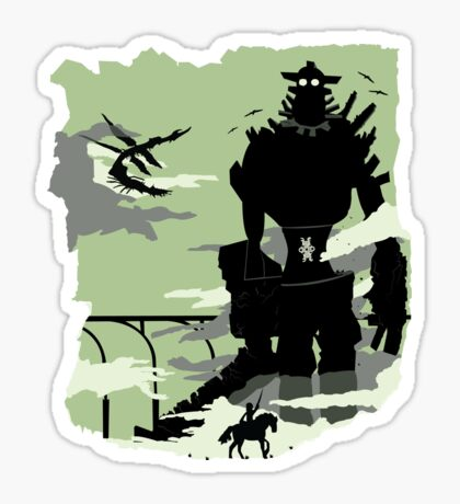 Silhouette of the Colossus Sticker