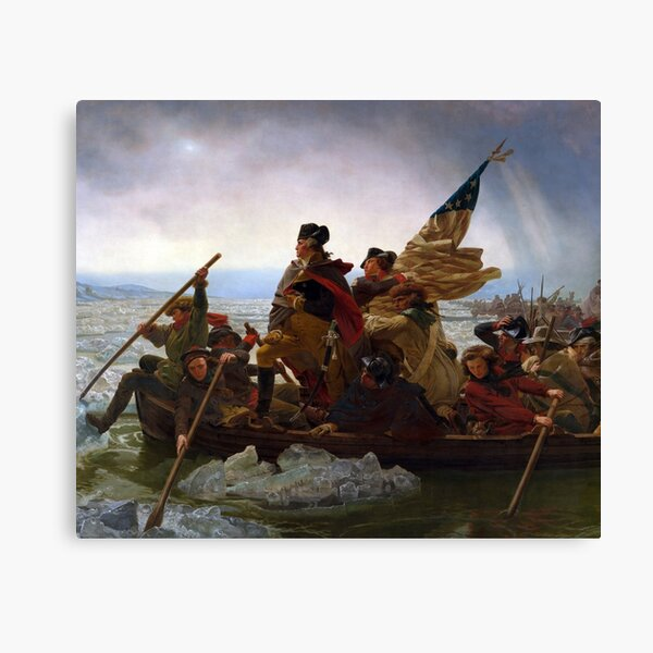 George Washington's Crossing of the Delaware River Canvas Print