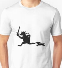 Viking attack with dachshunds Unisex T-Shirt