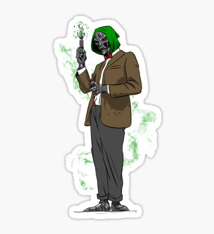 Dr. Whoom Sticker