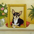 Chihuahua V - Mona Lisa by johnartist
