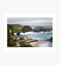 Ballintoy Harbour , County Antrim , Northern Ireland Art Print