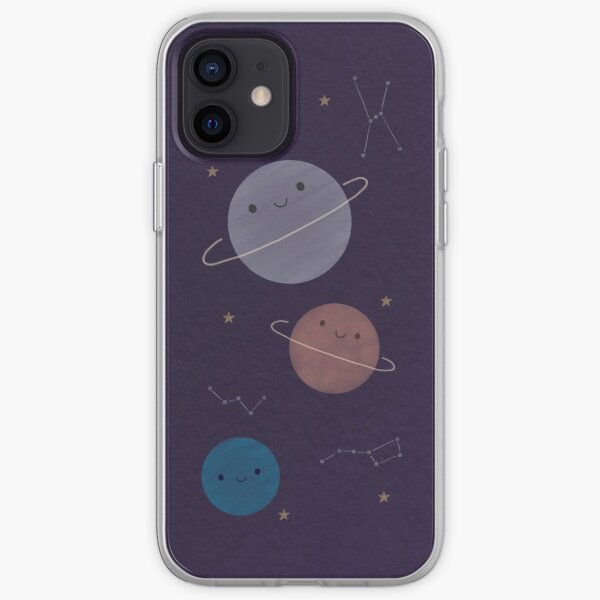 Kawaii Outer Space iPhone Soft Case