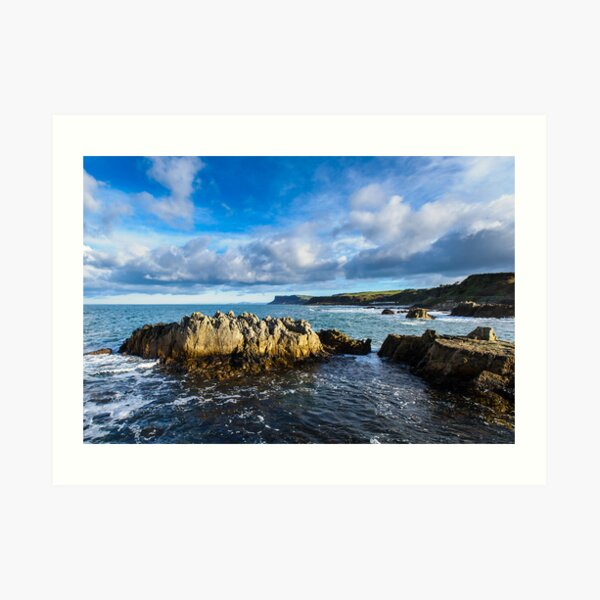 Ballycastle, County Antrim, Northern Ireland Art Print