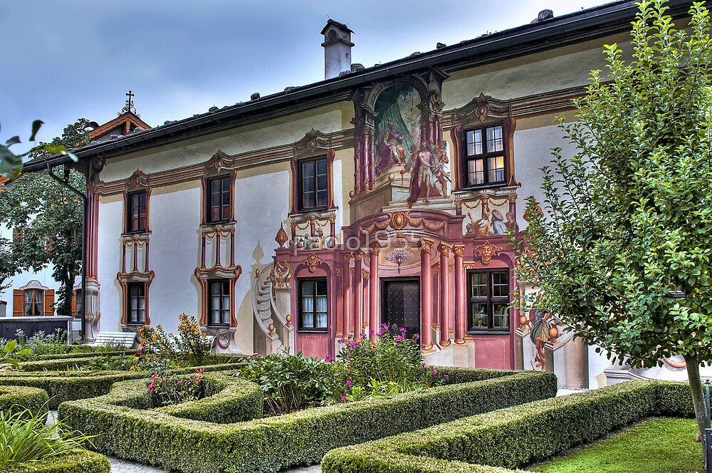 The Pilate House - Oberammergau - Germany by paolo1955