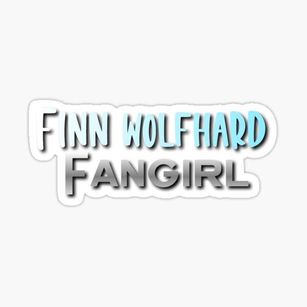 Finn Wolfhard Fangirl Design Pegatina