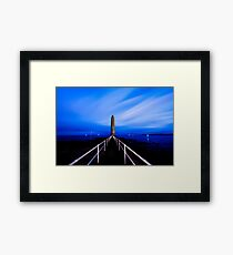 Chaine Memorial Tower , Larne , County Antrim , Northern Ireland Framed Print