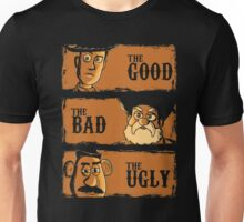 The Good The Bad the potato Unisex T-Shirt