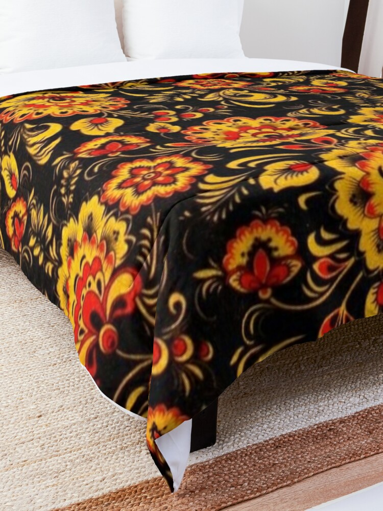 Alternate view of Khokhloma Comforter