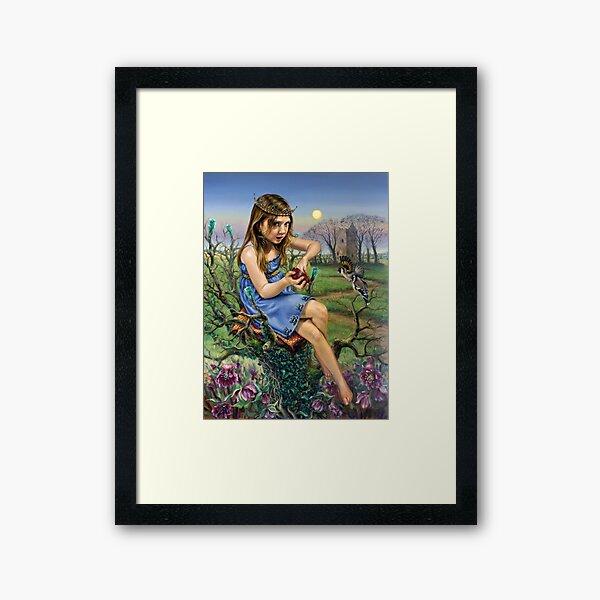 The Hedge Queen Framed Art Print