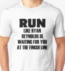 Run for Ryan Reynolds Unisex T-Shirt