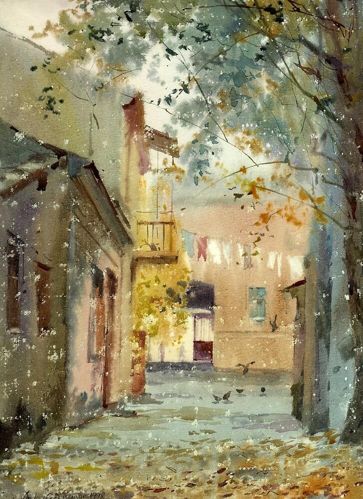 Fall motive by AndrejGerasimuk