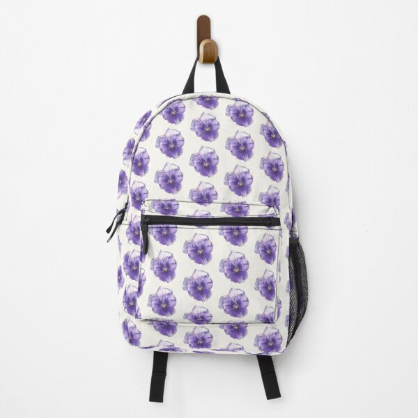 Pansy  colored pencils Backpack