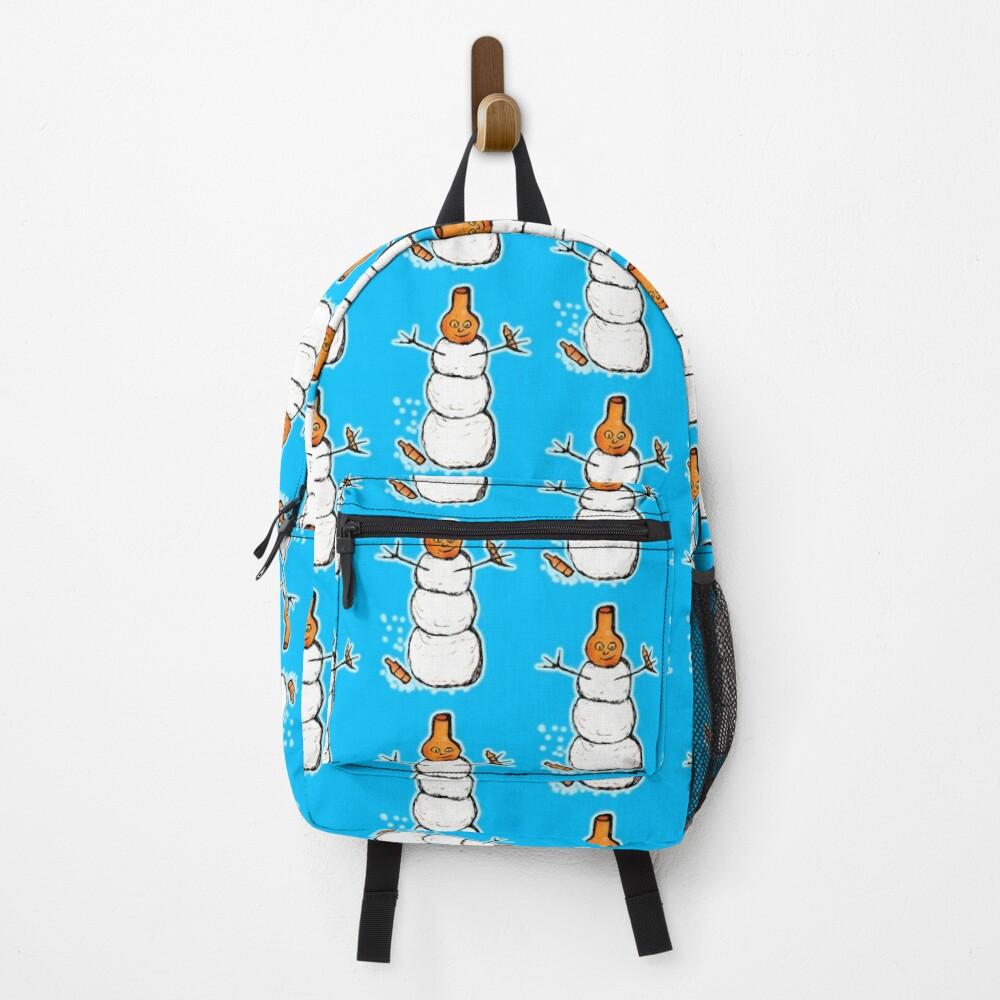 Beer Snowman Backpack