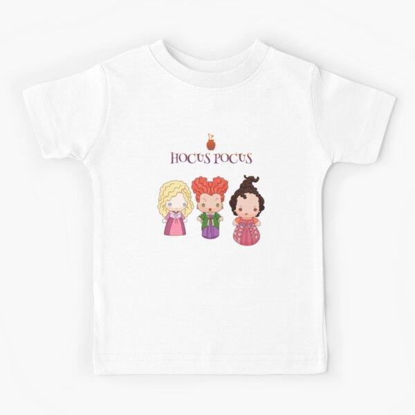 3 cute witches Hocus pocus t shirt Kids T-Shirt