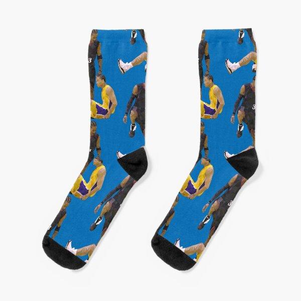Allen Iverson Steps Over Tyronn Lue Low Poly Socks