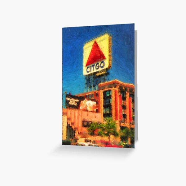 CITGO Sign Greeting Card