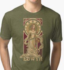 Shieldmaiden of Rohan Tri-blend T-Shirt