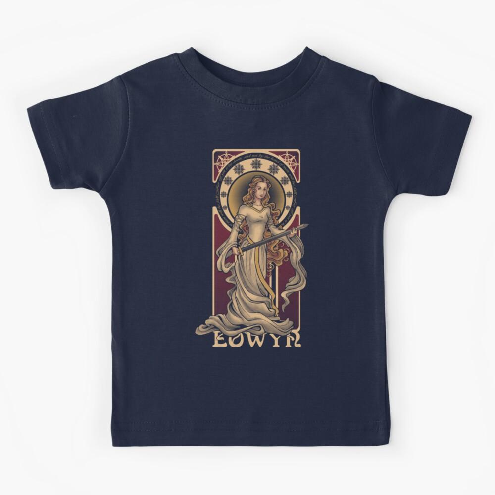 Shieldmaiden of Rohan Kids T-Shirt