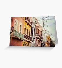 Old San Juan_3, Puerto Rico Greeting Card