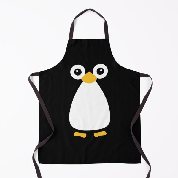 Cute Vector Penguin Apron
