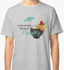 Winston - Look at me being so Naughty - New Girl Classic T-Shirt