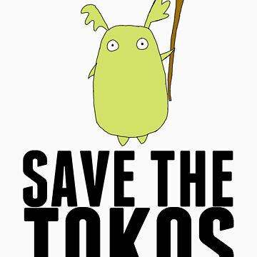 Ni No Kuni SAVE THE TOKOS by scarfasaurus