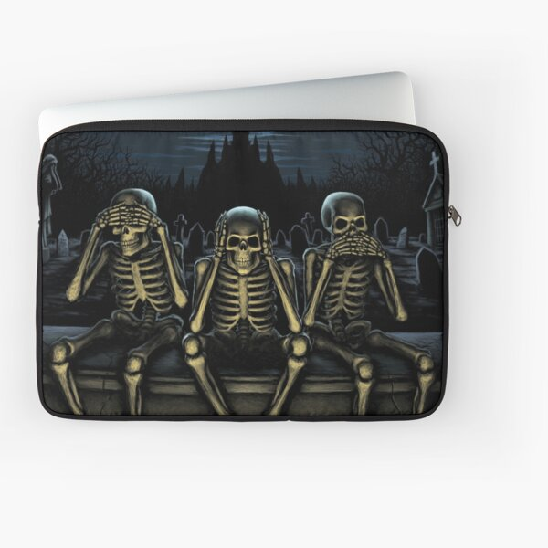 See No Evil Laptop Sleeve