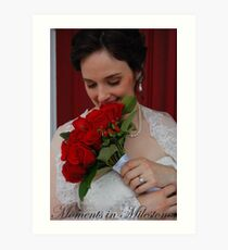 Bridal Portrait- #2 Art Print