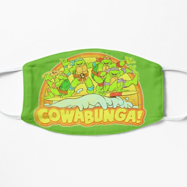 Cowabunga Surfin! (retro 80s) Mask