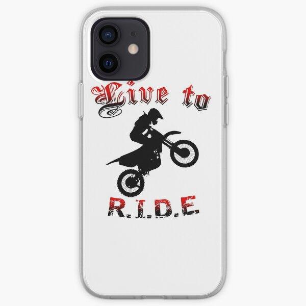 Moto cross Coque souple iPhone