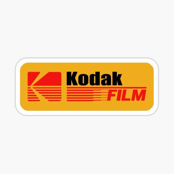 Logo Kodak Vintage Sticker