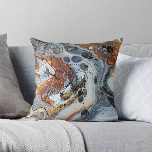 Looking for Gold Throw Pillow