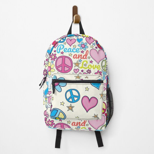 Peace and Love Bag Backpack