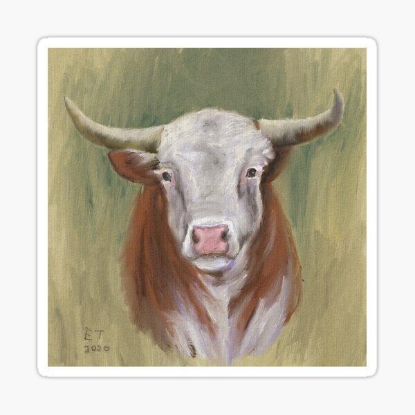 Hereford Bull Sticker