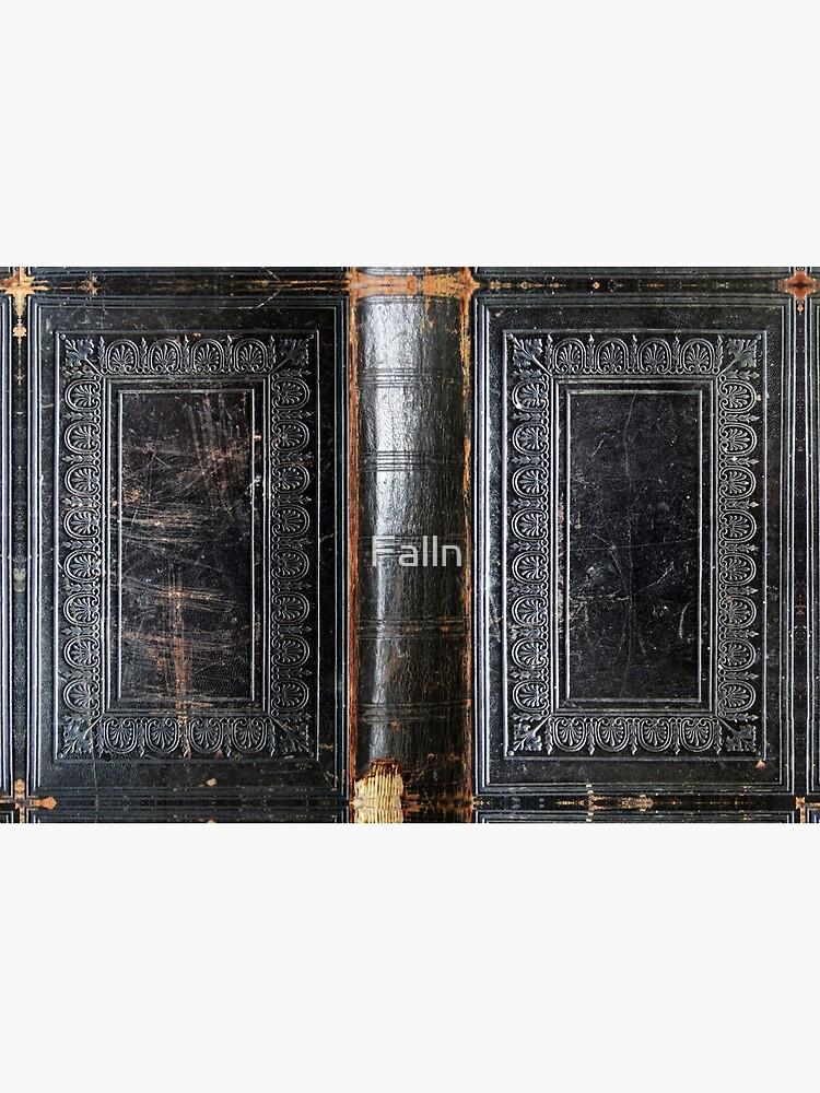 Black Antique Book by Falln