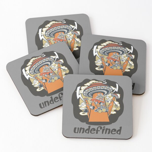 Ufo Undefined Attack Coasters (Set of 4)