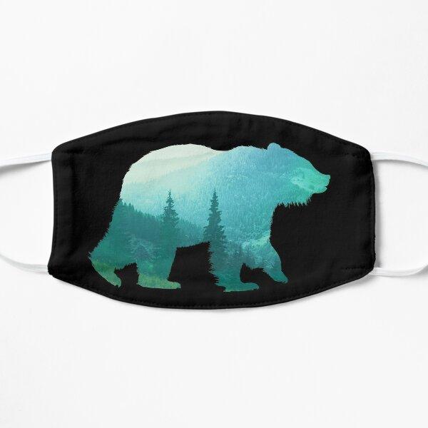 Bear Double Exposure Surreal Animal Wildlife & Adventure Gift Mask