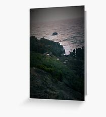Rocky Cliffs Greeting Card