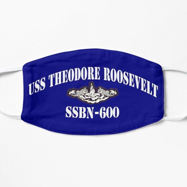 USS THEODORE ROOSEVELT (SSBN-600) SHIP'S STORE Flat Mask