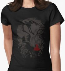 Little Red Riding Hood (new version) Women's Fitted T-Shirt
