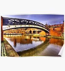Bridge over the River medlock Poster