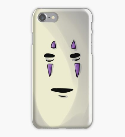 face of no face iPhone Case/Skin